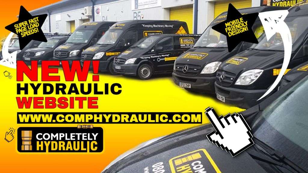Completely Hydraulic Launches A New Mobile-friendly Website